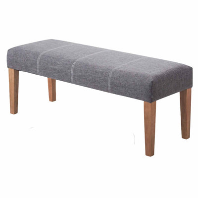 The Zara Grey Fabric Hallway Bench from Roseland Furniture