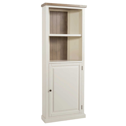 St Ives Painted Corner Display Cupboard by Roseland Furniture