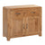 The Capri Oak Rustic Chunky 2 Door Sideboard Cabinet from Roseland Furniture