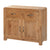 The Capri Oak Rustic Wooden Small Sideboard Cabinet from Roseland Furniture