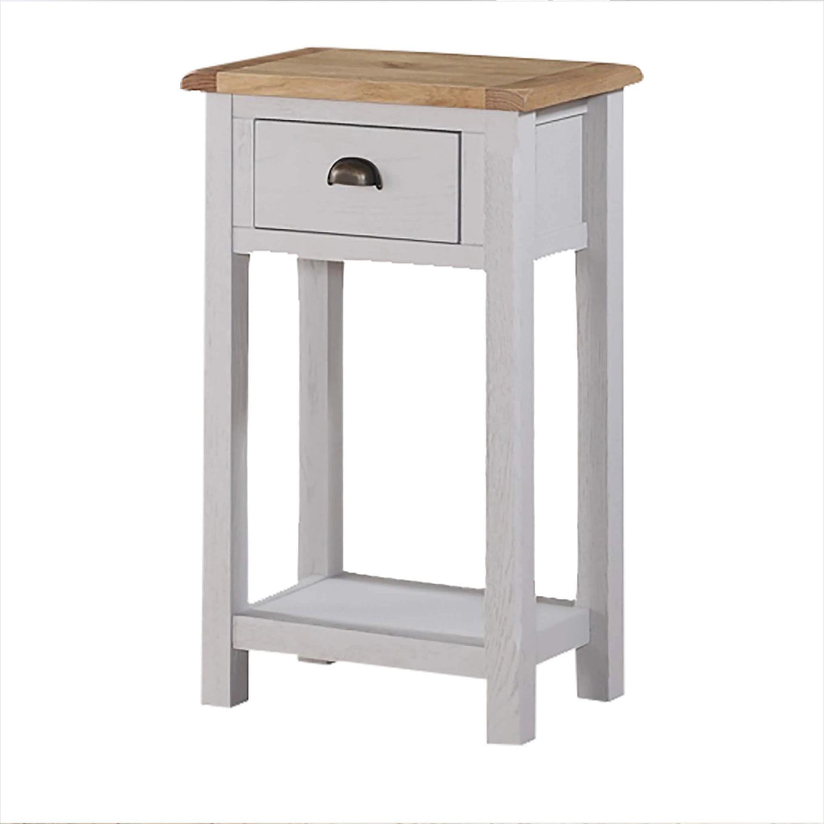 Kilmore Painted Hall Table with 1 Drawer by Roseland Furniture