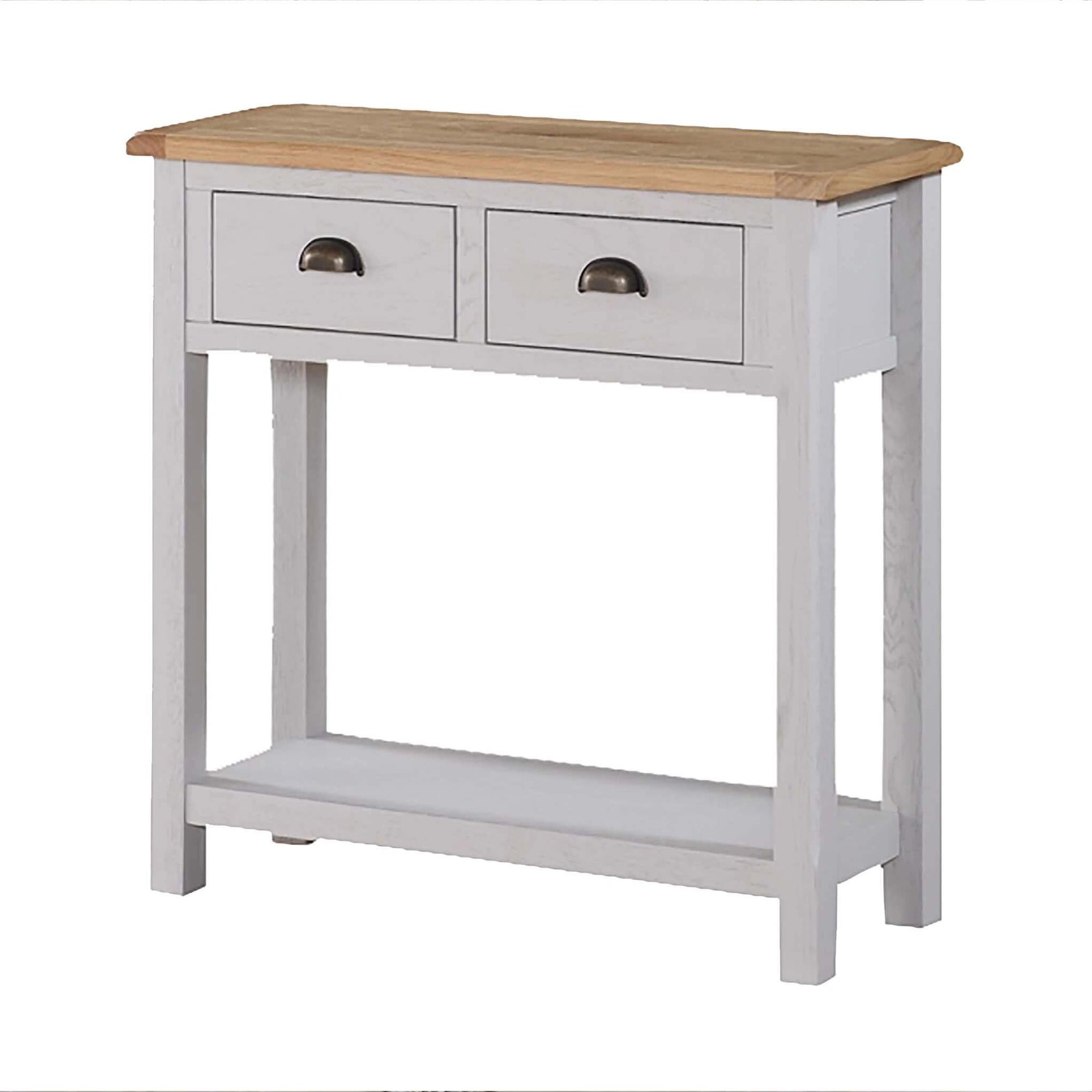 Kilmore Painted Hall Table with 2 Drawers by Roseland Furniture