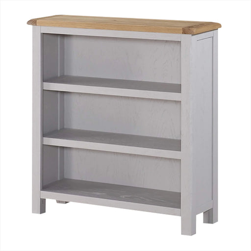 Kilmore Painted Low Bookcase by Roseland Furniture