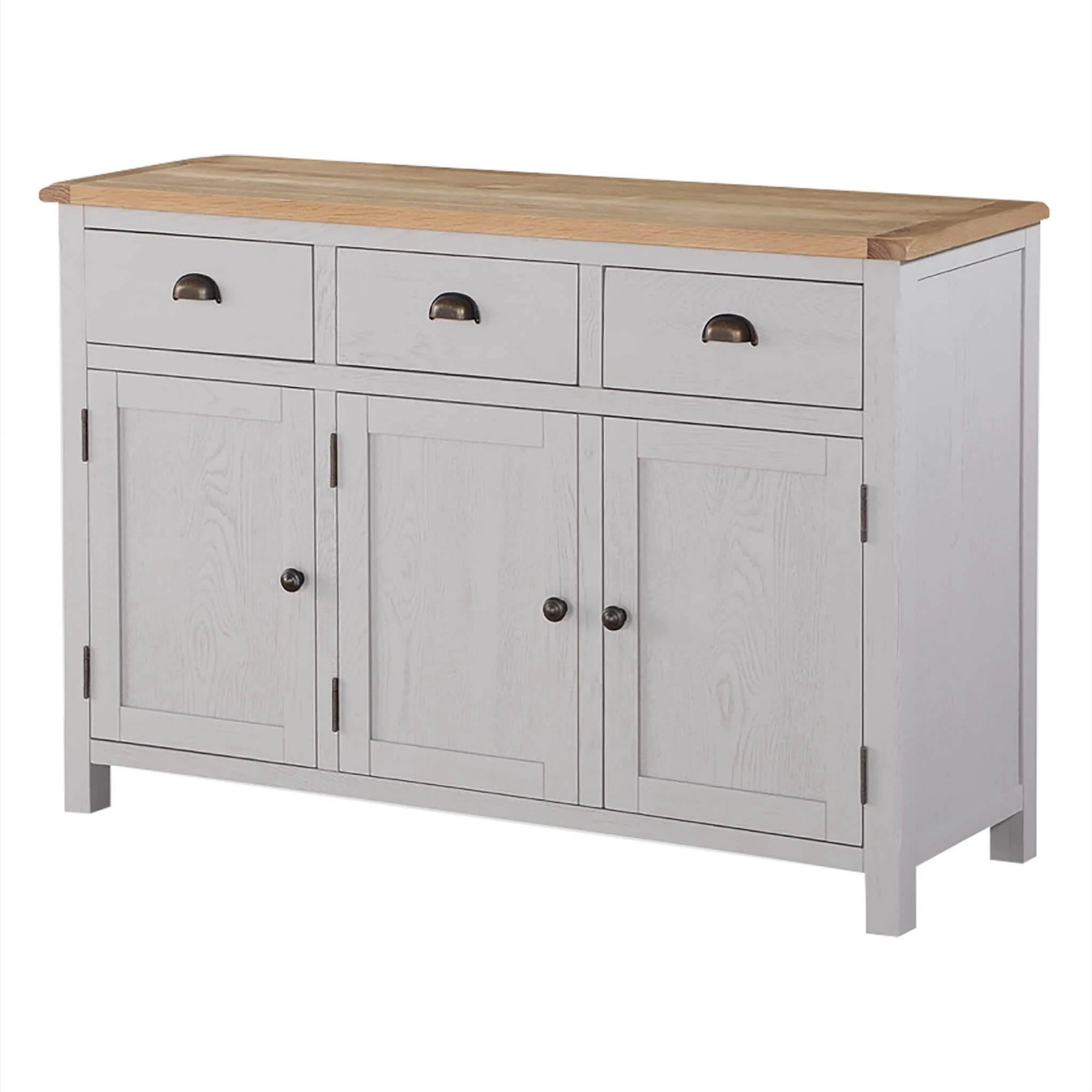 Kilmore Painted 3 Door Sideboard by Roseland Furniture