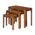 The Dunmore Acacia Dark Wood Nest of 3 Tables from Roseland Furniture