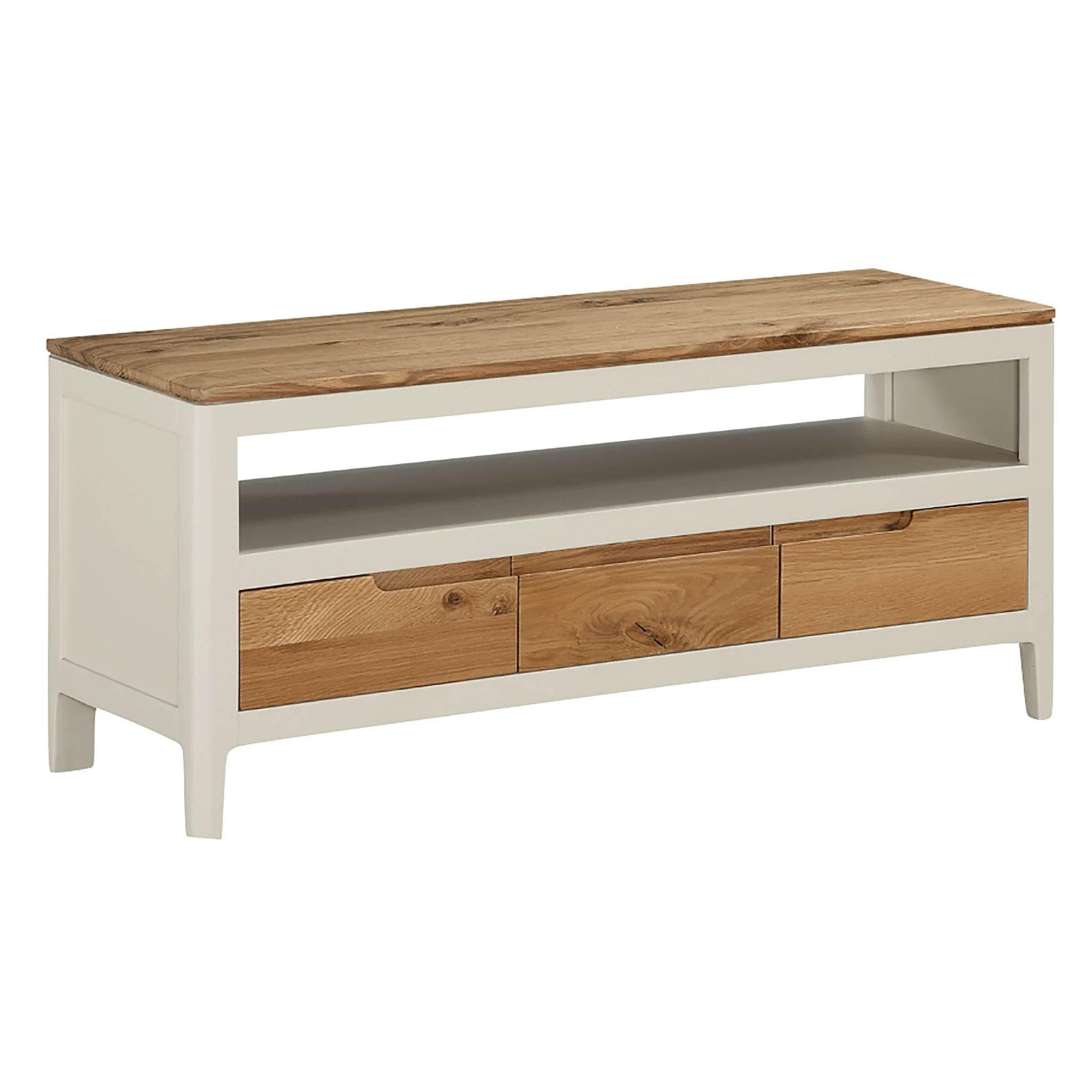 Dunmore Painted 105cm TV Stand Unit by Roseland Furniture