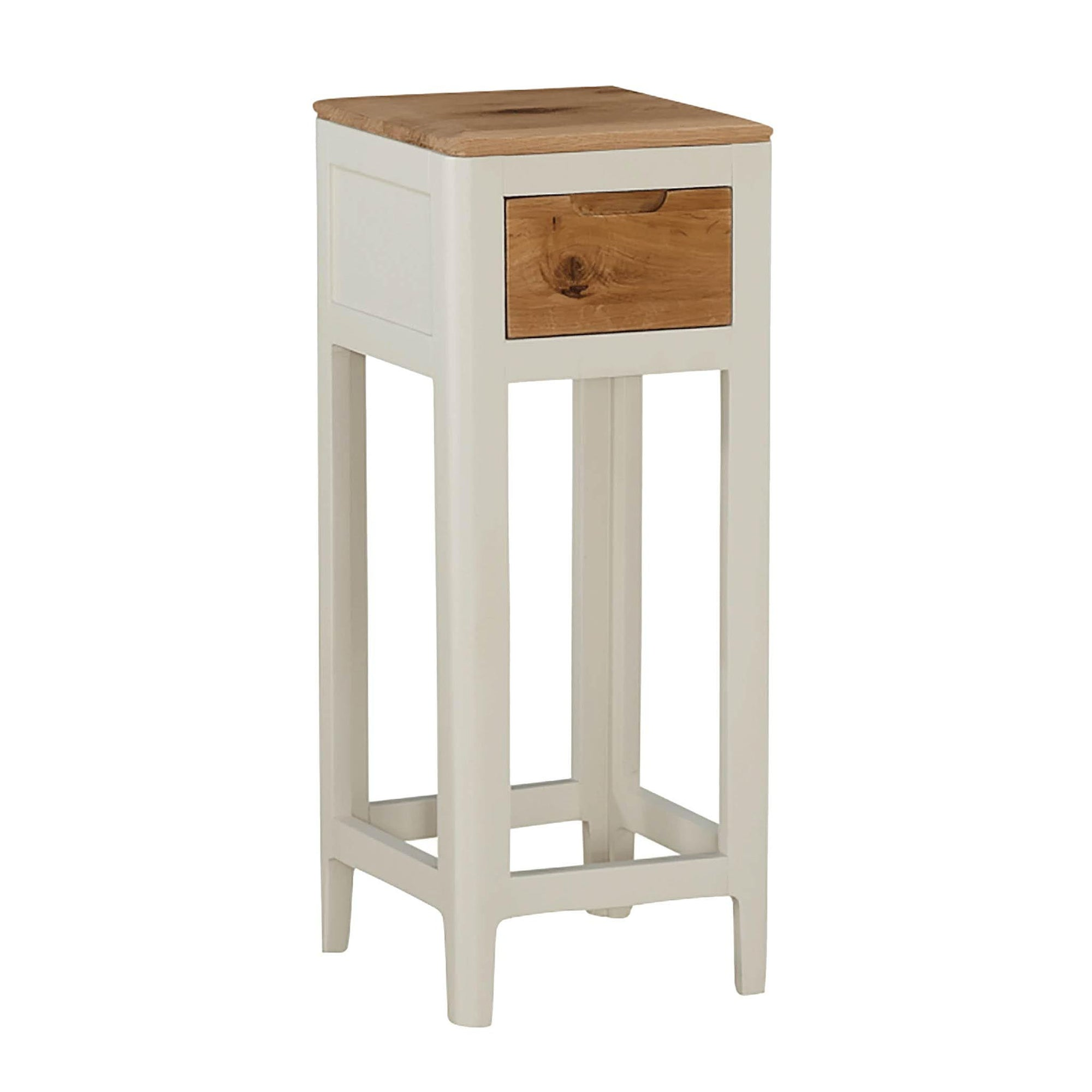 Dunmore Painted telephone Side Table by Roseland Furniture