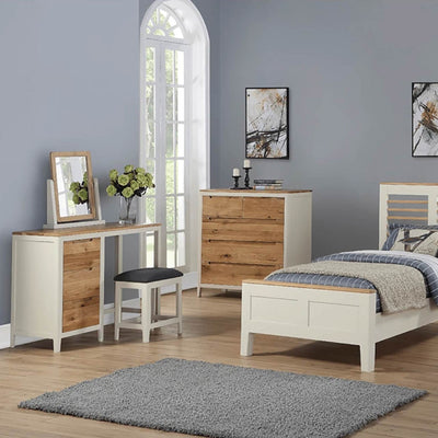 Dunmore Painted Dressing Table and Stool lifestyle