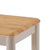 Altona Nest of Tables - Close Up of Oak Top