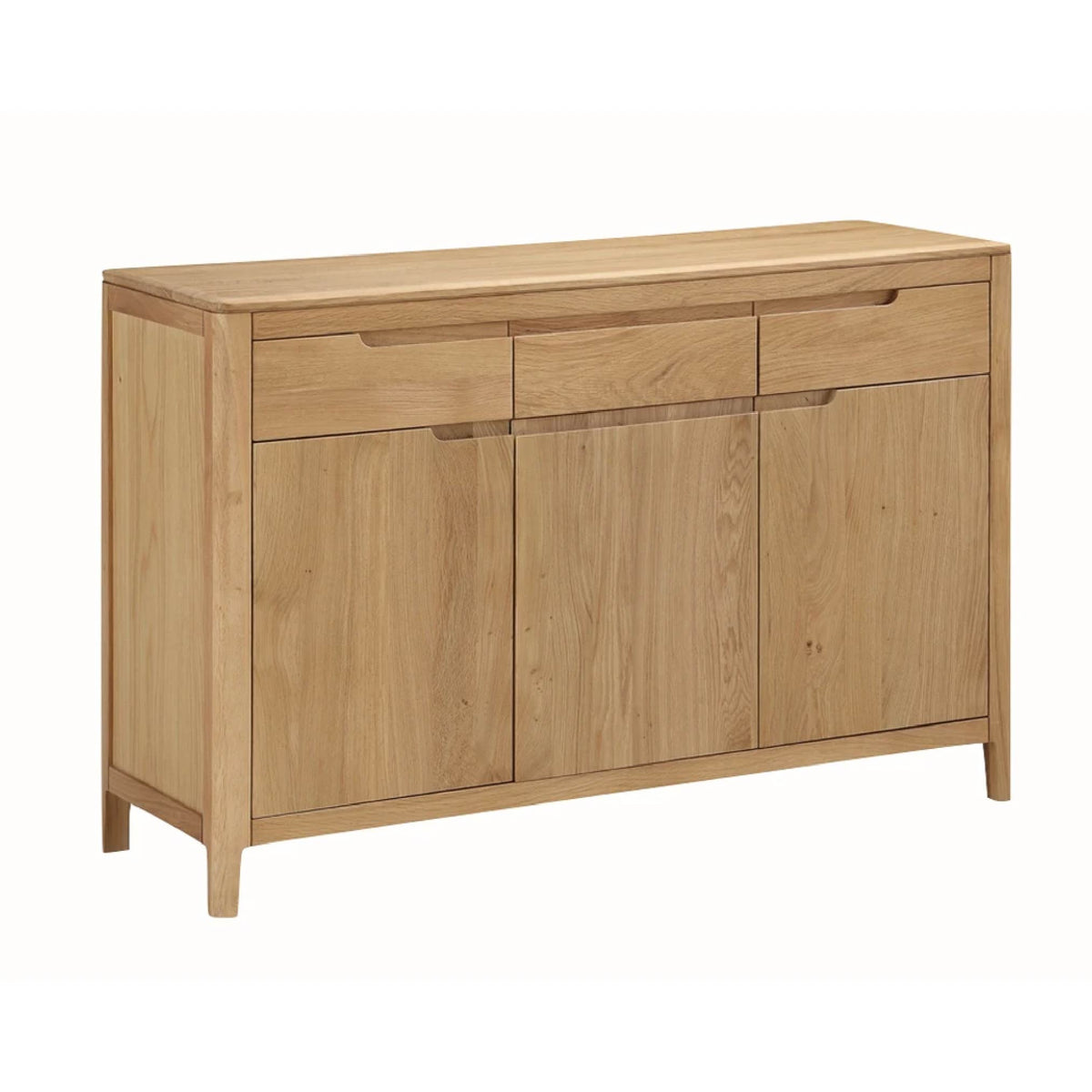Dunmore Oak Large Sideboard by Roseland Furniture
