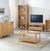 Dunmore Oak Coffee Table - Lifestyle