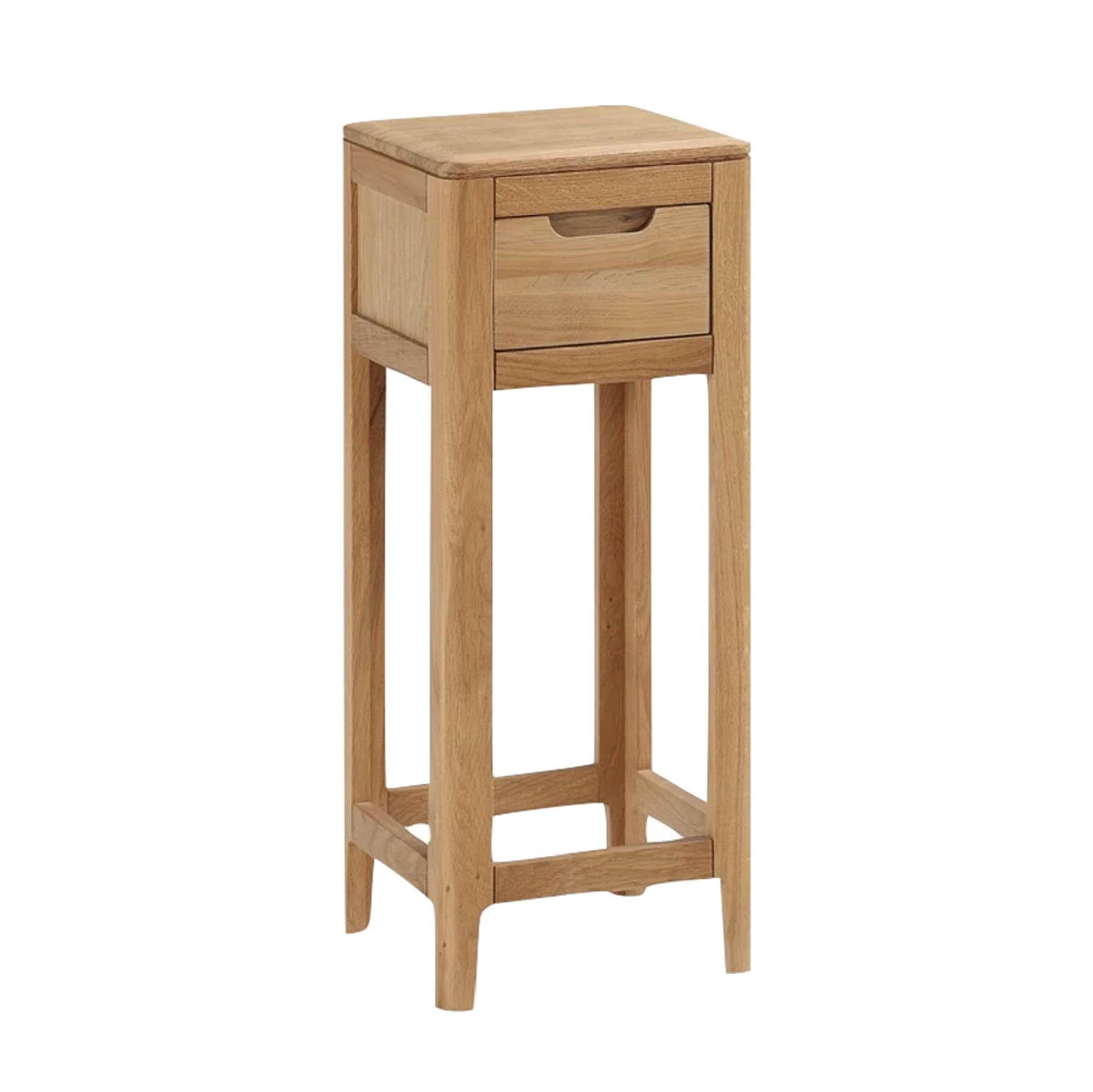 Dunmore Oak Telephone Side Table by Roseland Furniture