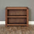 The Salem Walnut Small Low Solid Wood Bookcase from Roseland Furniture