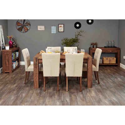 The Salem Walnut Family Dining Table for 6 from Roseland Furniture
