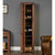The Salem Walnut Wooden Tall Shoe Rack from Roseland Furniture