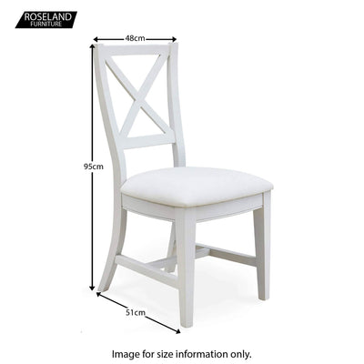 Signature Dining Chair - Size Guide