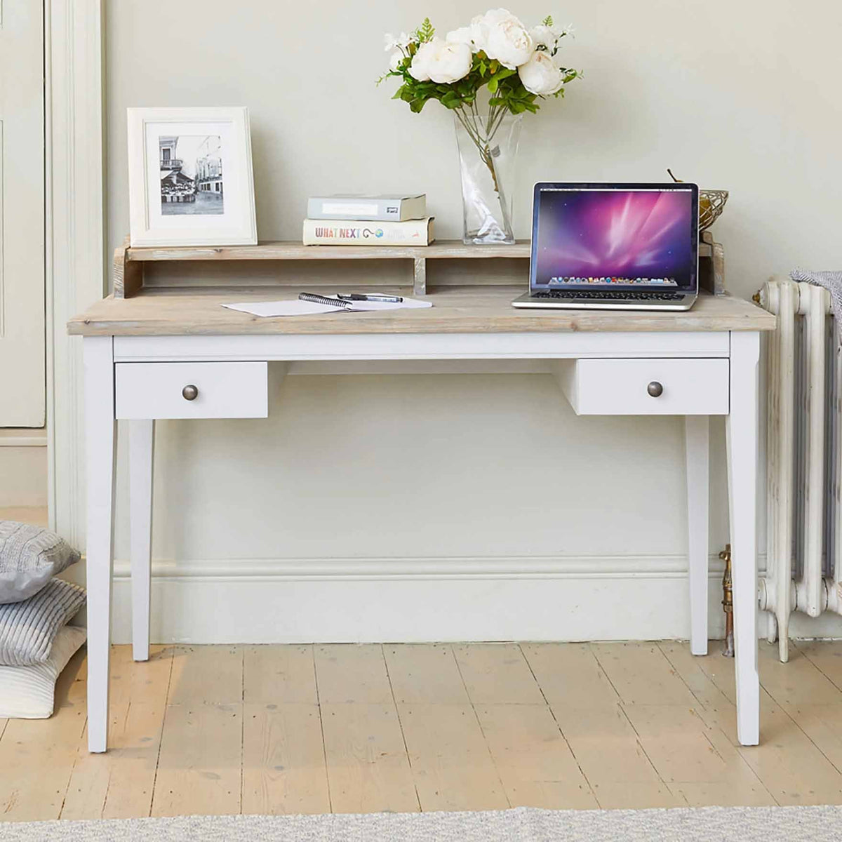 Signature Grey Desk - Dressing Table