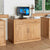 Mobel Oak Hidden Office Desk