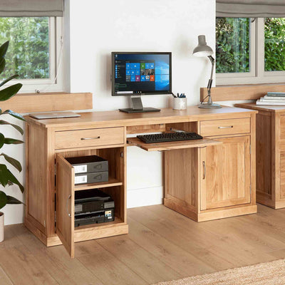 Mobel Oak Large Desk