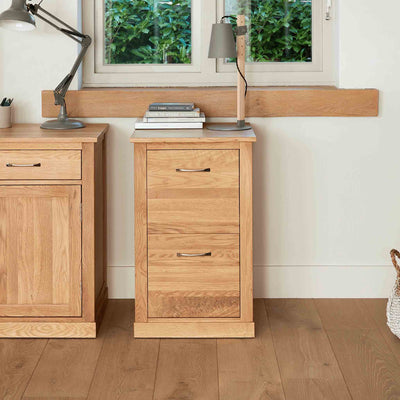 Mobel Oak Filing Cabinet