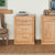 Mobel Oak Printer Cabinet by Roseland Furniture