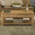 Mobel Oak Coffee Table