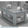 Dimensions - Mobel Oak Coffee Table