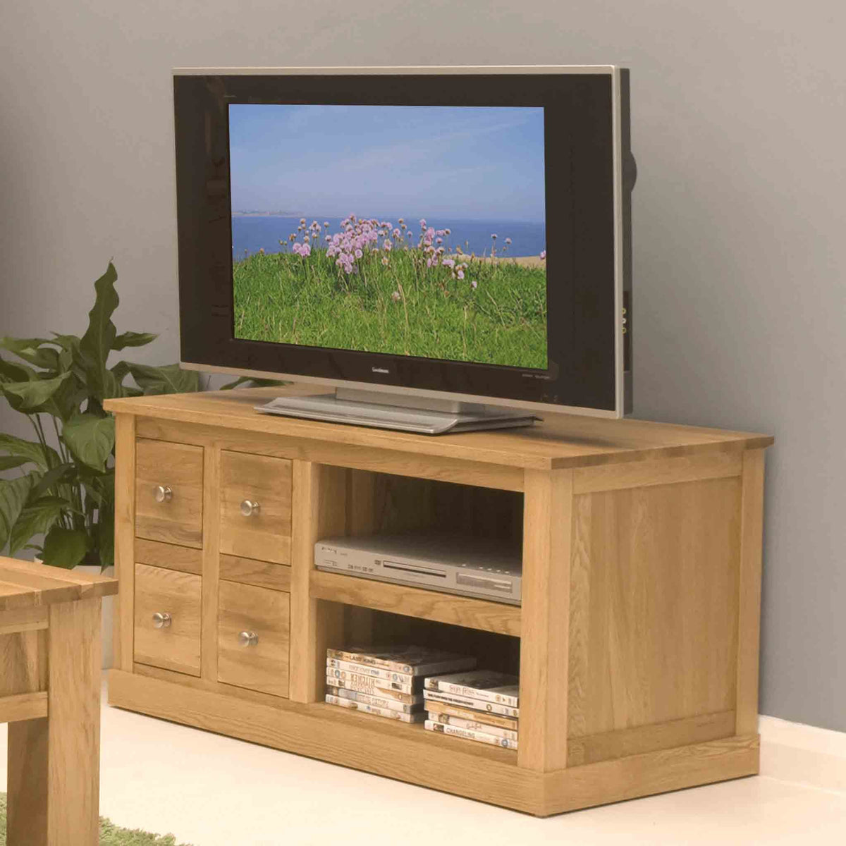 Mobel Oak 99cm TV Stand
