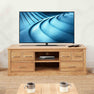 Mobel Oak 146cm TV Stand by Roseland Furniture