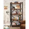 The Urban Chic Large Industrial Reclaimed Wood Bookshelf from Roseland Furniture