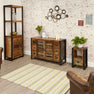 Lifestyle image of The Urban Chic Industrial Reclaimed Wood Sideboard