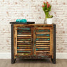 The Urban Chic Industrial Reclaimed Wood Small Sideboard from Roseland Furniture