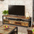 The Urban Chic Industrial Reclaimed Wood Extra Large TV Unit with Storage