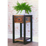 The Urban Chic Industrial Reclaimed Wood Plant Table from Roseland Furniture