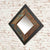 Diamond view of The Urban Chic Industrial Reclaimed Wood Small Square Mirror