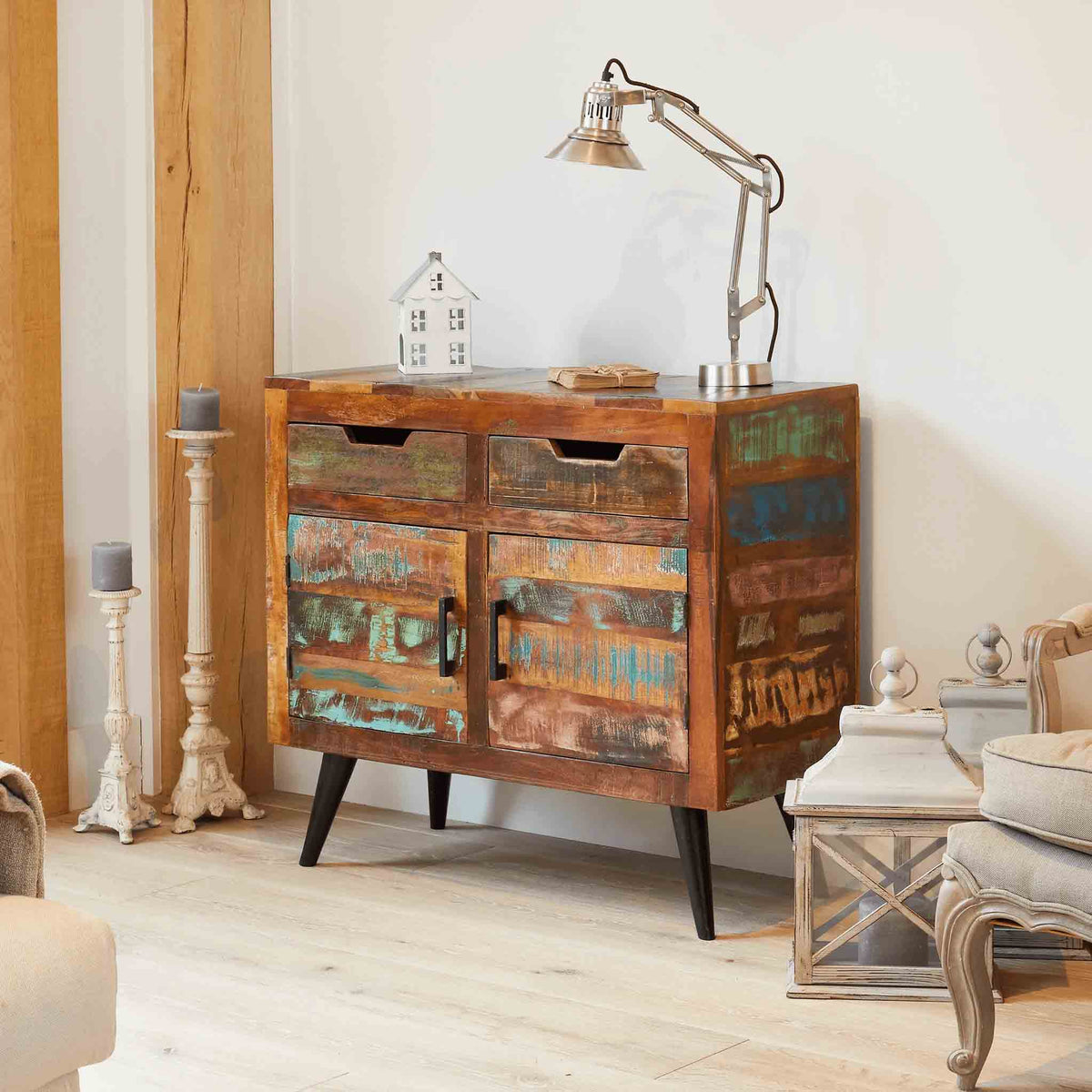 Coastal Chic Small Sideboard by Roseland Furniture