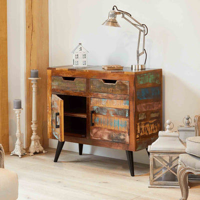 Coastal Chic Small Sideboard - Lifestyle