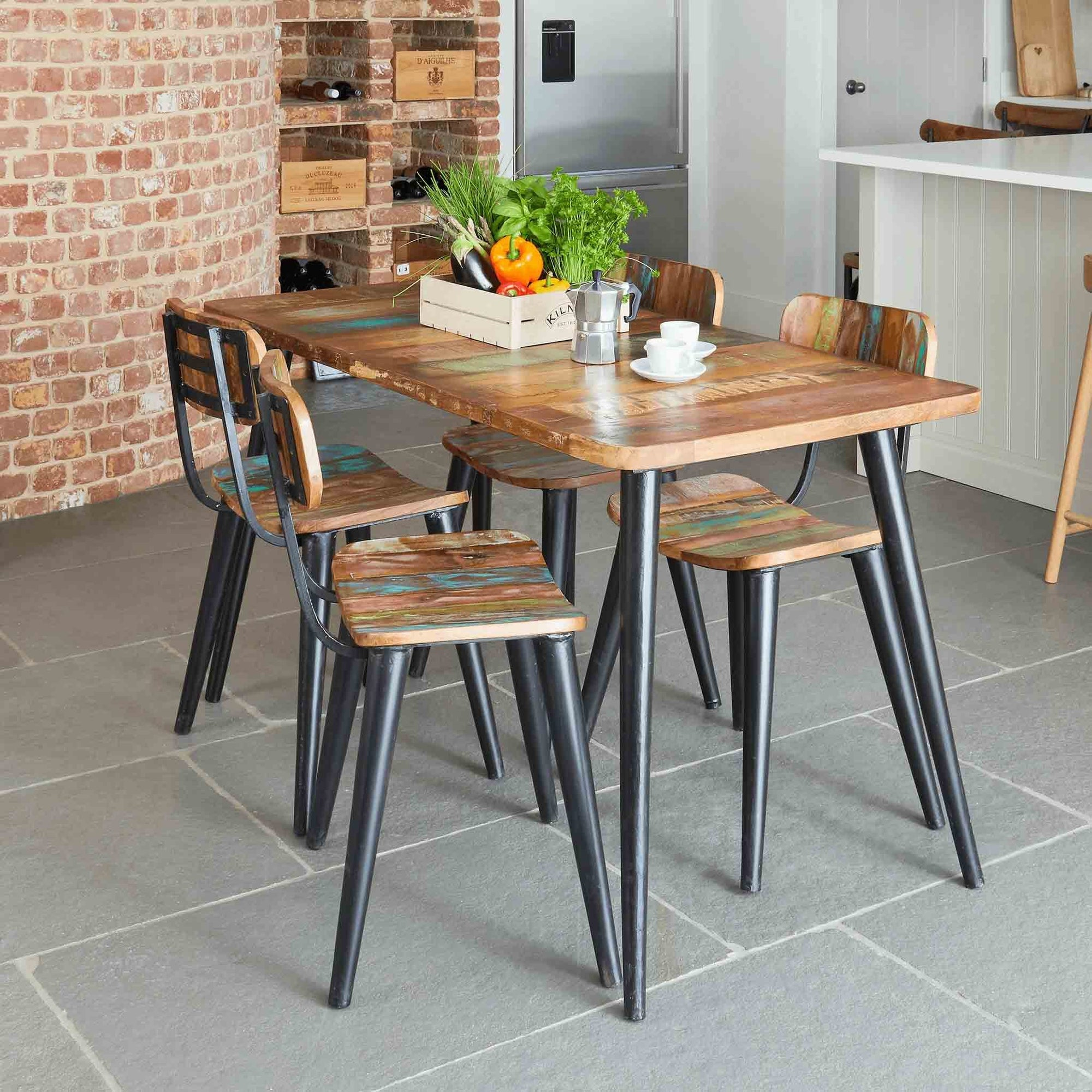 Coastal Chic 140cm Dining Table by Roseland Furniture