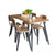 Coastal Chic Small Dining Table - No Background