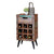 Coastal Chic Wine Rack / Lamp Table - No Background