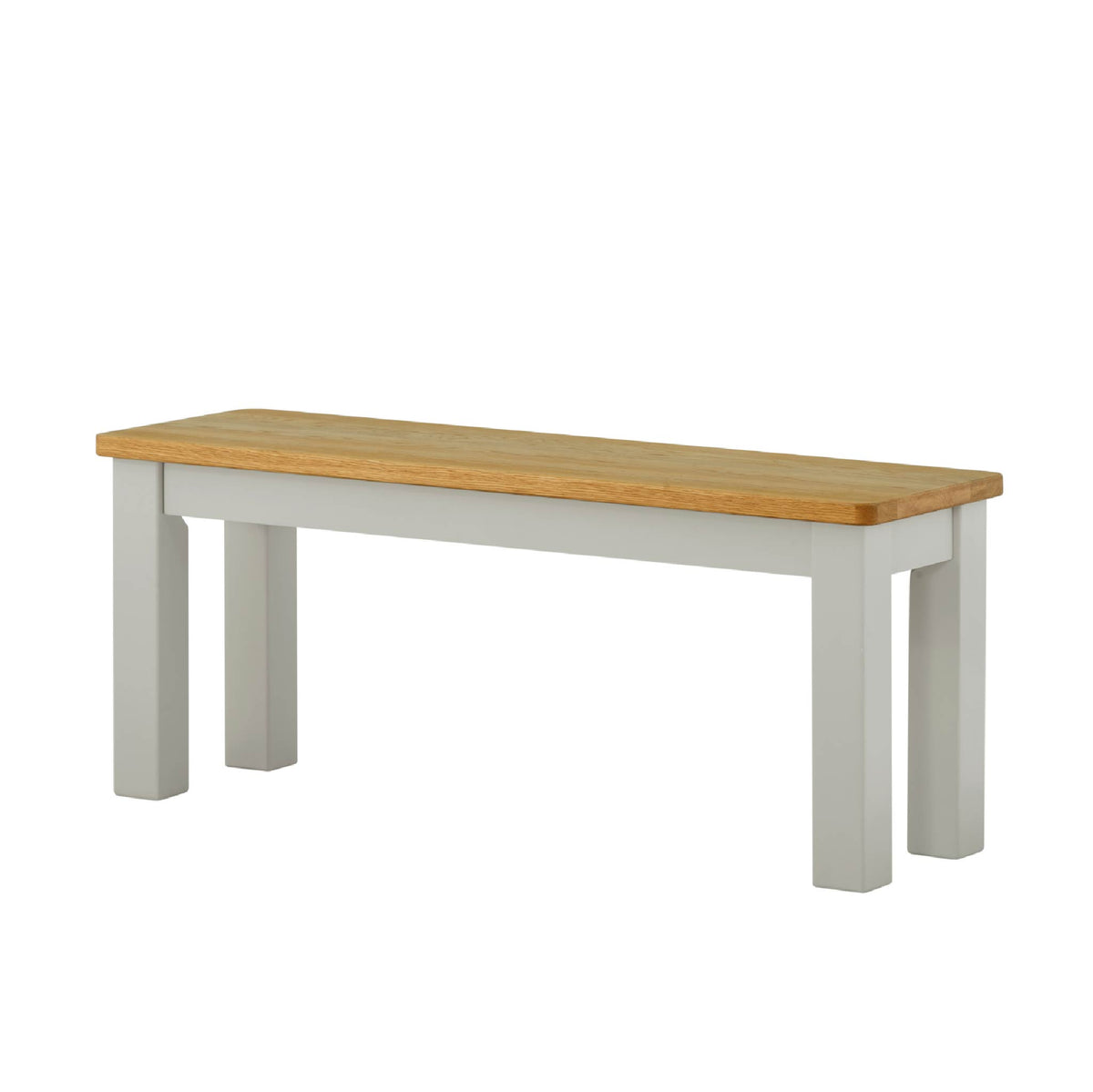 The Padstow Grey Indoor Dining Bench