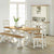 Daymer Cream Slatted Dining Chair - Lifestyle View