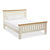 The Daymer Cream 6 ft Super King Size Wooden Bed Frame from Roseland Furniture