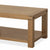 Abbey Grande Oak Coffee Table - Shelf View
