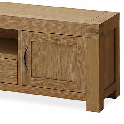Abbey Grande 200cm Large TV Stand - Close up of Cupboard