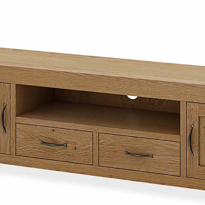 Abbey Grande 200cm Large TV Stand - Close Up of Mid Section
