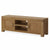 The Abbey Grande 160cm Oak TV Stand Storage Unit