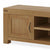 The Abbey Grande 160cm Oak TV Stand - Close Up of Cupboard