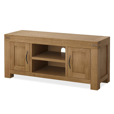 Abbey Grande 125cm Oak TV Stand