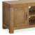 The Abbey Grande 90cm Oak Small TV Stand - Close Up of Cupboard